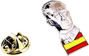 Gemelolandia Pin de Solapa Francisco Franco y Bandera de España: Amazon.es: Ropa y accesorios
