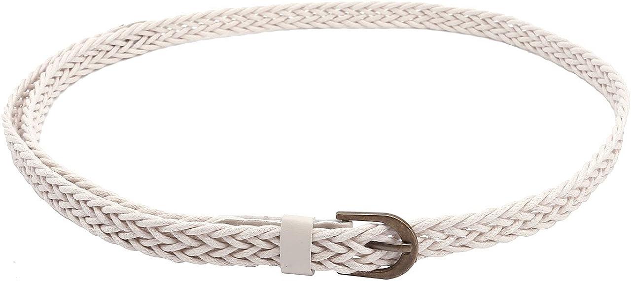 CHIC DIARY Womens Fashion Tassel Thin Braided Belt For Dress Bowknot Waist Chain//Rope//Belt