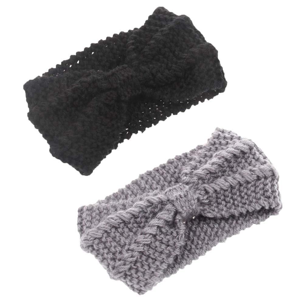 4 Pack Knit Headbands...
