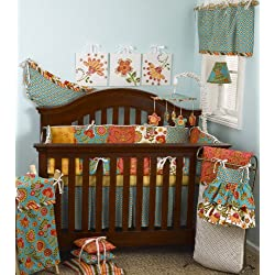 Cotton Tale Designs 8 Piece Girl's Crib Bedding Set, Gypsy