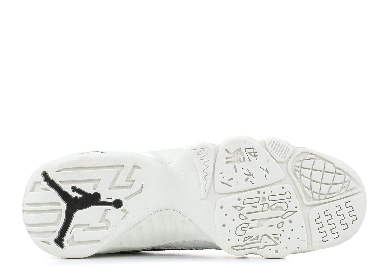 Amazon.com | Nike Jordan Kids Grade School Air Jordan 9 Retro Basketball Shoes (3.5, Black/White/Gold) | Running