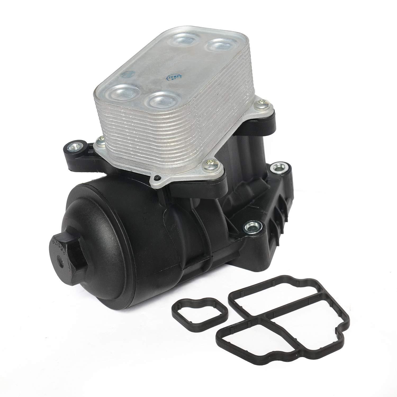 Bo/îtier de filtre /à huile avec refroidisseur 03P115389