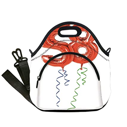 Zofmkgdji Insulated Lunch BagNeoprene Tote Bags58th Birthday DecorationsGetting Older
