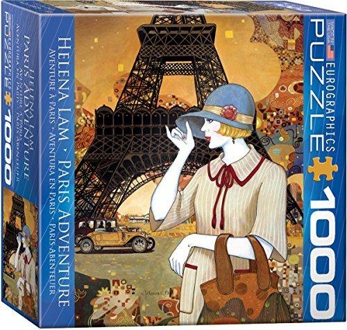 EuroGraphics Paris Adventure 1000-Piece Puzzle (Small Box) Puzzle by EuroGraphics