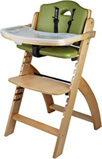 Abiie Beyond Wooden High Chair With Tray. The Perfect Adjustable Baby Highchair Solution For Your  sc 1 st  Amazon.com & Amazon.com : High Chair - Award Winning Svan Baby to Booster ...