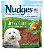 Nudges Health Wellness Chicken Jerky Dog Treats, 10 oz