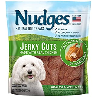 Nudges Jerky Cuts Health & Wellness Made with Real Chicken, 10 oz