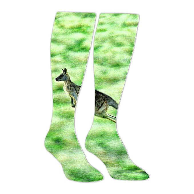 1d9471e24 Image Unavailable. Image not available for. Color  Unisex Leap Kangaroo High  Knee Socks ...