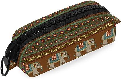 Arte étnico animal elefante raya tribal: Amazon.es: Oficina y papelería