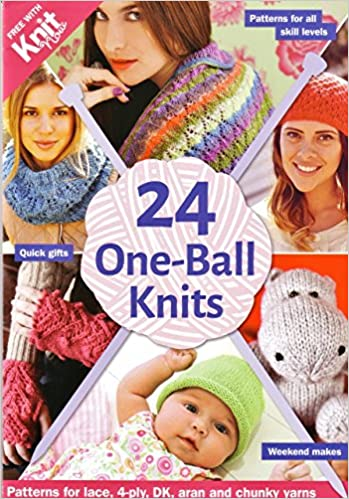 24 One Ball Knits Patterns For Lace 4ply Dk And Chunky Yarns