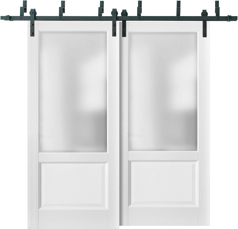 Puertas correderas de granero con herrajes de 2 m | Lucia 22 ...