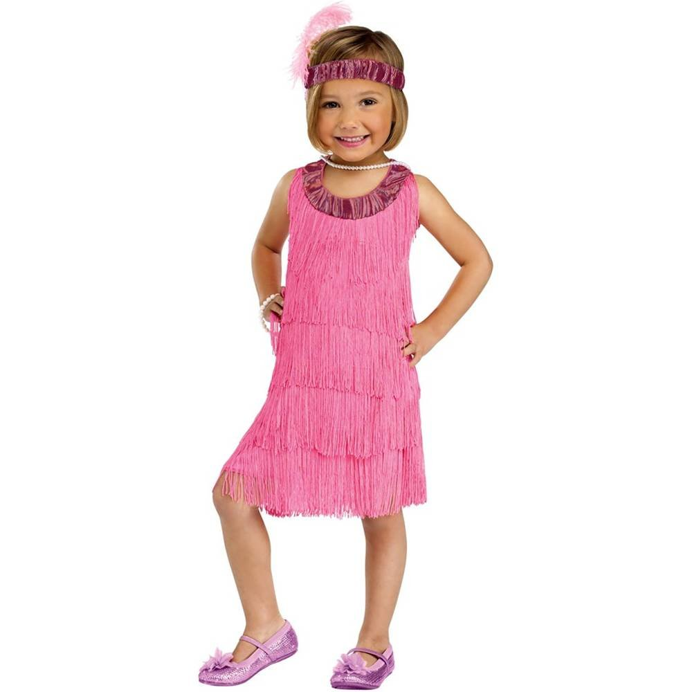Pink Flapper Toddler Costume