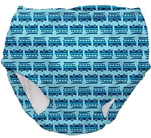 i play. Swim Diaper,Newborn / 6 Months,Aqua Geo Van