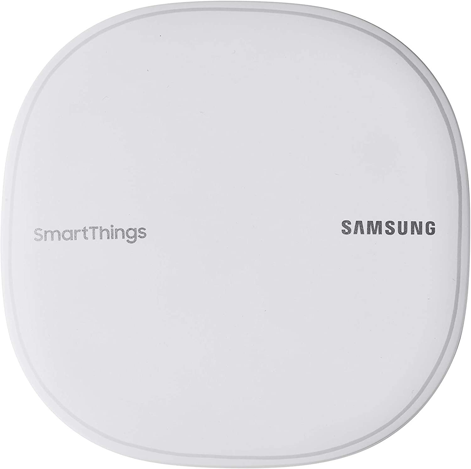 Samsung SmartThings Wifi Mesh Router Range Extender SmartThings Hub Functionality Whole-Home WiFi Coverage - Zigbee, Z-Wave, Cloud to Cloud Protocols - White (Single) (Renewed)