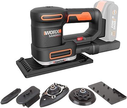 Worx WA2028 Schleifblatt-Set f/ür Multischleifer WX820