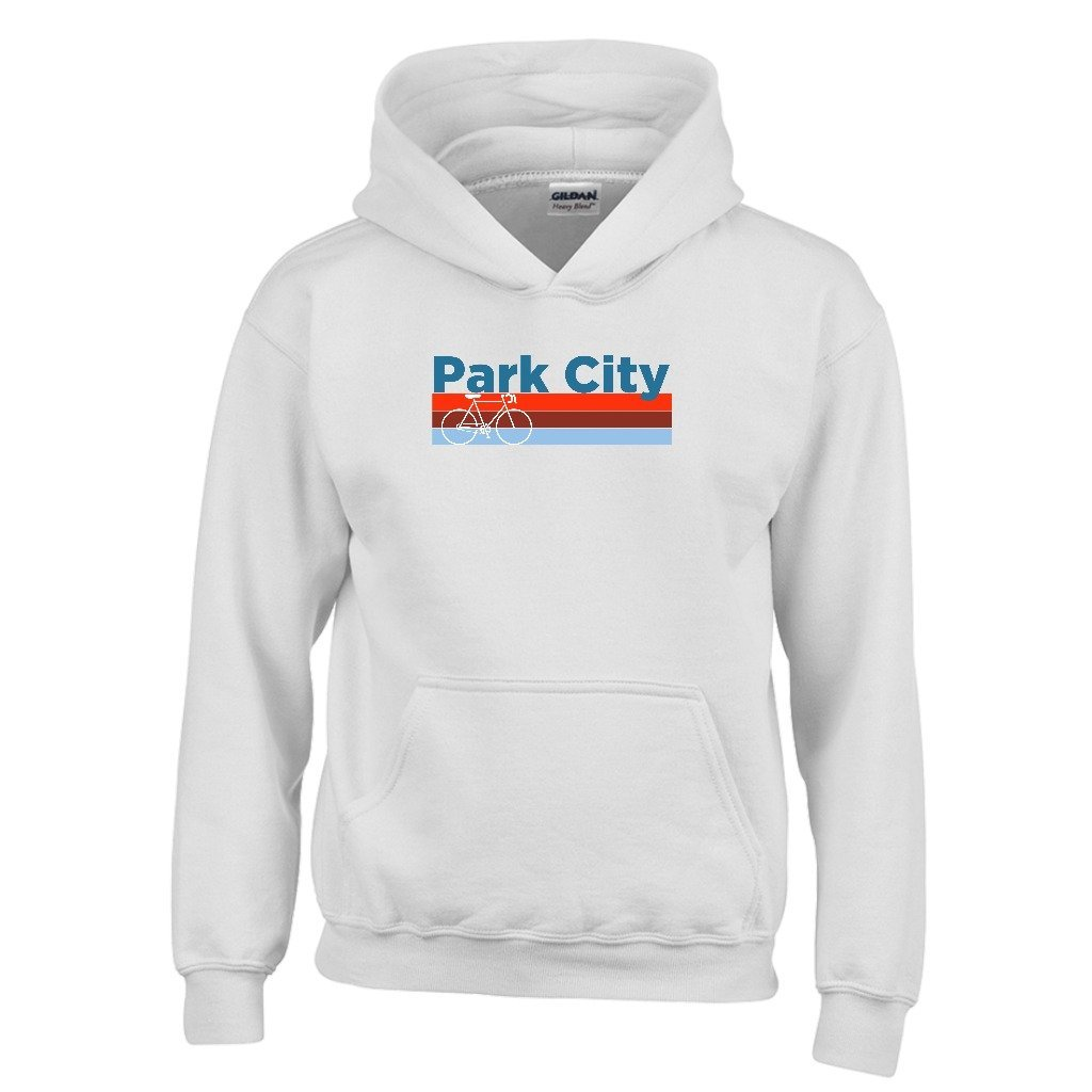 Tenn Street Goods Park City Retro Bike /& Mountain Bike Youth Hoodie Utah Kids Sweatshirt