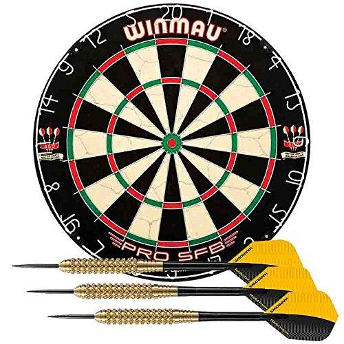 Lote diana winmau pro-sfb + juego dardos Winmau Darts
