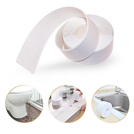 sealant item bathtub and sealing bathroom strip mildew waterproof stickers resistant wall art tape kitchen