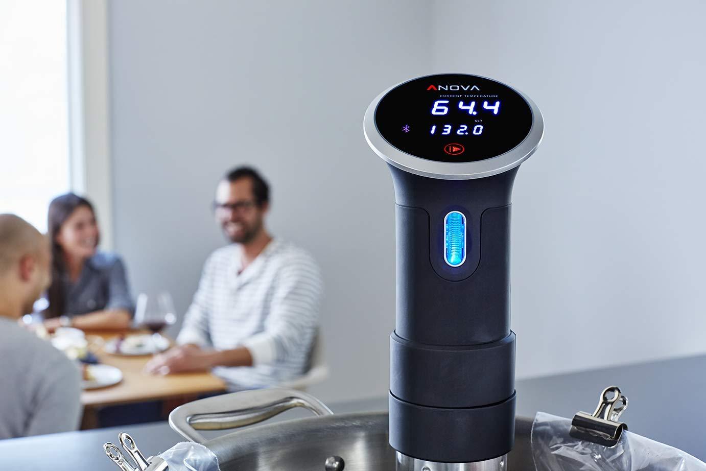 Edelstahl, 38 cm WIFI 2nd Gen 900 Watts Sous Vide Stick Anova Precision Cooker