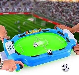 0Miaxudh Jouet de Table de Foot de Table Mini Table Football Football Interactive Jouets Jouets de Football Jouets Jouets Jouets de Football Jouet Cadeau Multicolore