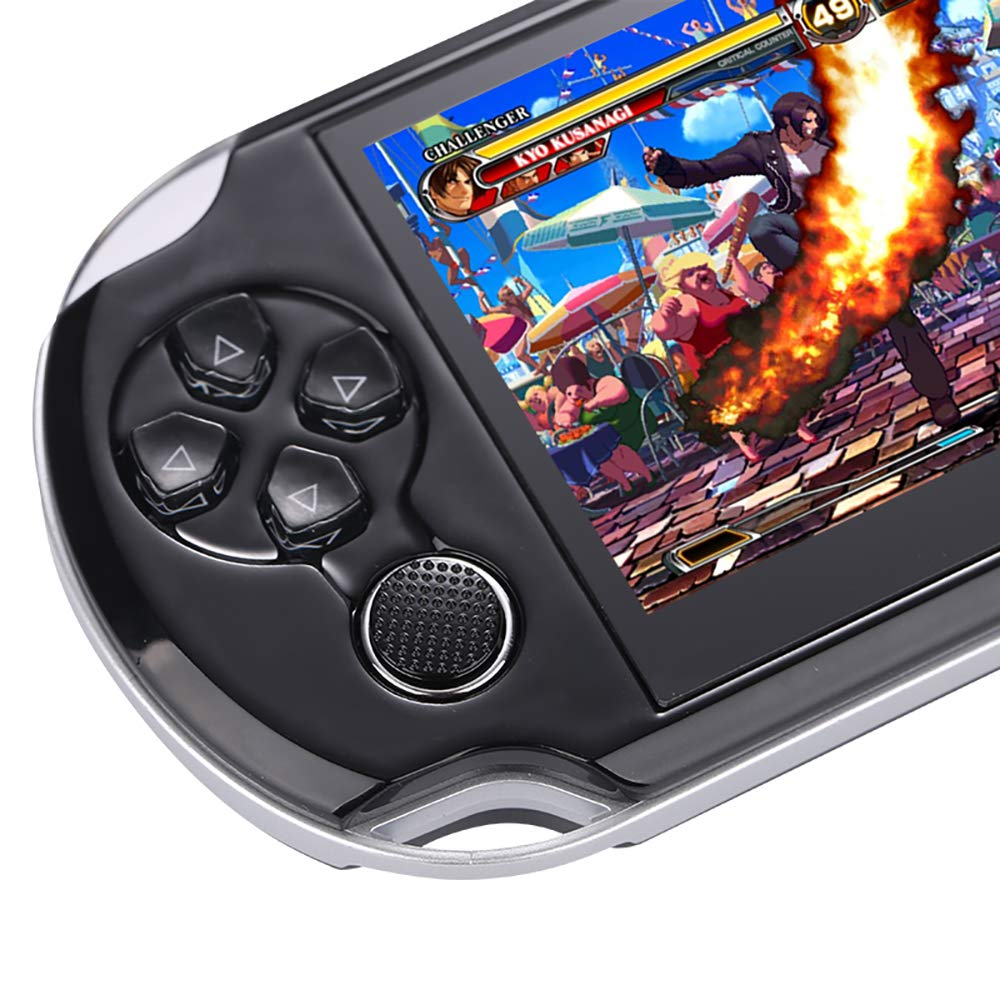 DREAMHAX Handheld Game Console with 4.3 Inch Screen Free 10000 Games, Portable Video Games with 8GB + 32GB Storage, Classic Arcade Retro Game Player Gameboy, Birthday Gifts Presents for Kids Children by DREAMHAX (Image #4)