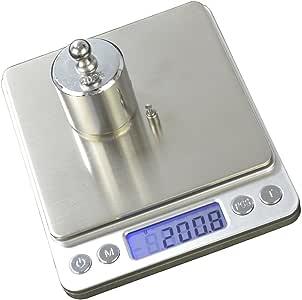 Balança digital de precisão 1g a 2kg Conta Peças c/bandeja CBRN05529