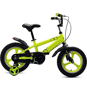 Axdwfd Infantiles Bicicletas Bicicleta para niños, Rueda de entrenamiento para bicicletas para niños 12/
