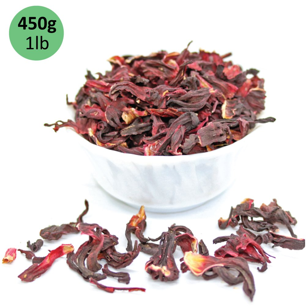 Pure Hibiscus Herbal Tea Image