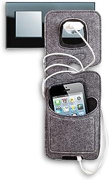 2 x fieltro teléfono celular de carga estación de carga para el ...