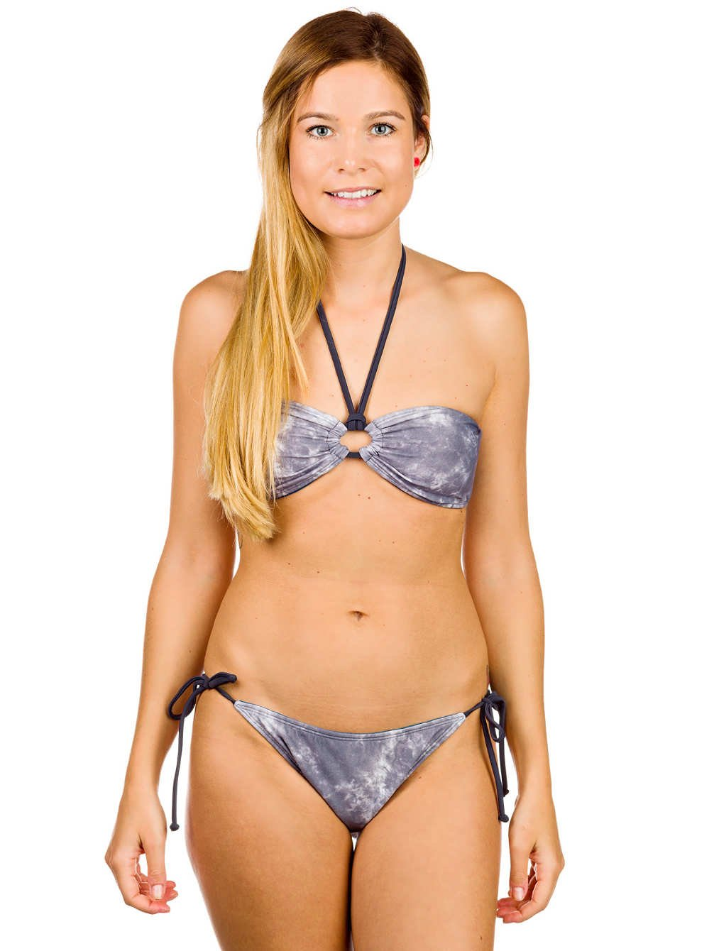 DC Shoes Damen Bikini Beyer Bandeau Halter