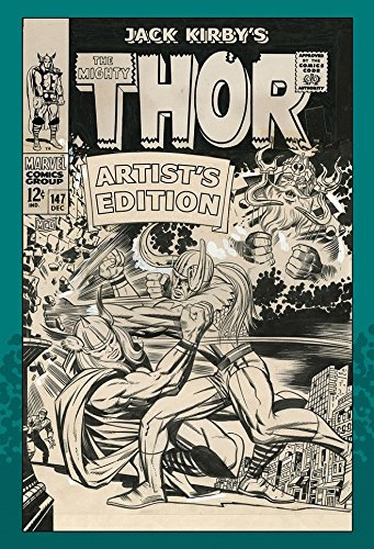 Jack Kirby's The Mighty Thor Artist's Edition HC Large Coffee Table Book ()