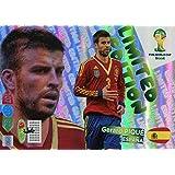 FIFA World Cup 2014 Brazil Adrenalyn XL Gerard Pique Limited Edition