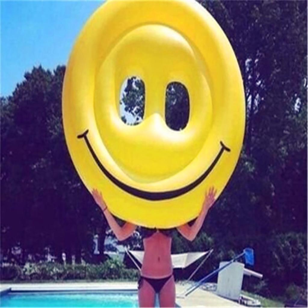 160 cm Großes lächelndes Gesicht floating-Reihe Yongquan Schwimmen Aqua Stühle