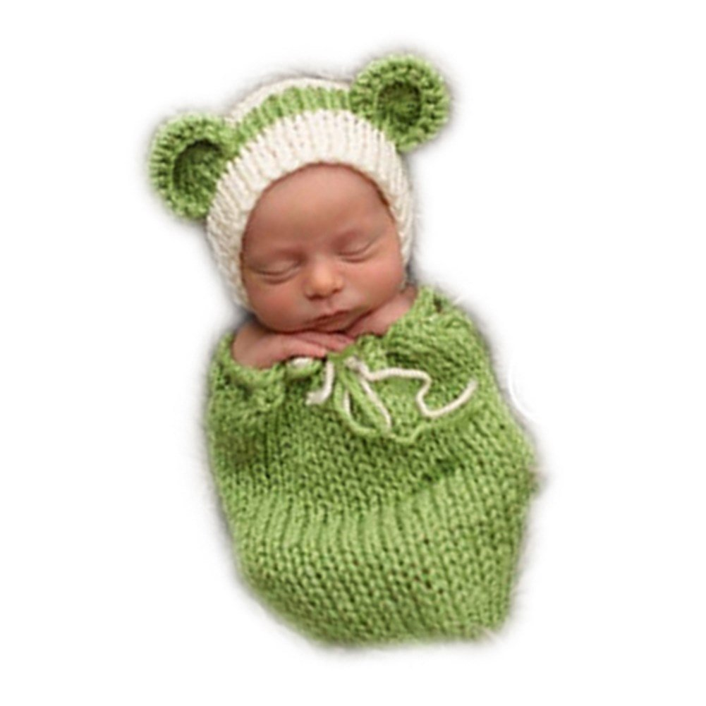 Newborn Sleeping Bag Romper Newborn Photography Props Sleepwear Swaddle Wrap Sack