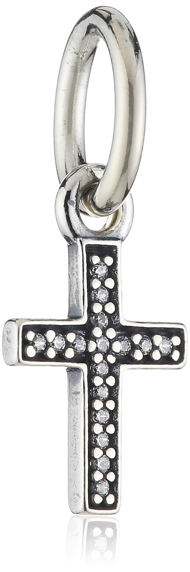 Pandora Symbol of Faith Cross Dangle Charm 791310CZ