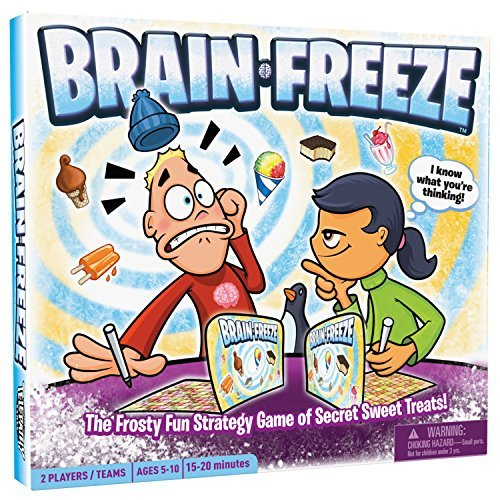 Brain Freeze, Award-Winning Board Game for Kids and Families, Fun and Educational Game to Learn Strategy, Logic, Deduction and Memory, Ages 5 and Up [並行輸入品] B07MG83X3V