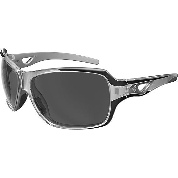 Ryders Eyewear Carlota Sunglasses in White Black Polarised R00214C One Size Brown Silver Flash Mirror Polarised 0bUG6