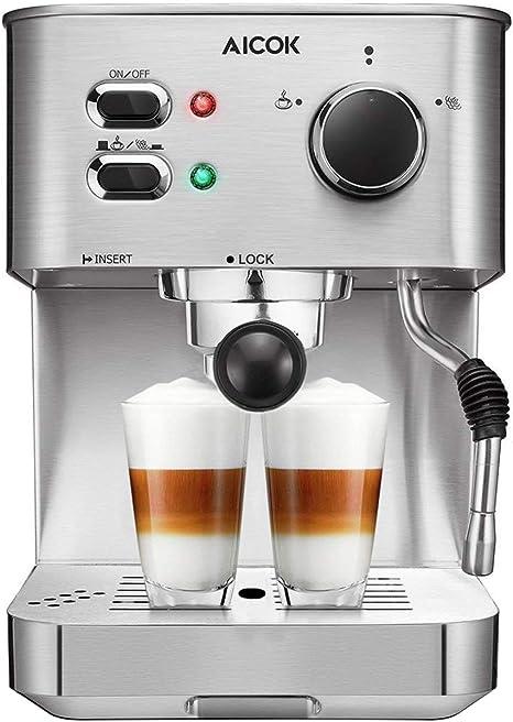 Coffee Bar Espresso Machine Milk Steam Frother Cappuccino Latte Brewer Maker