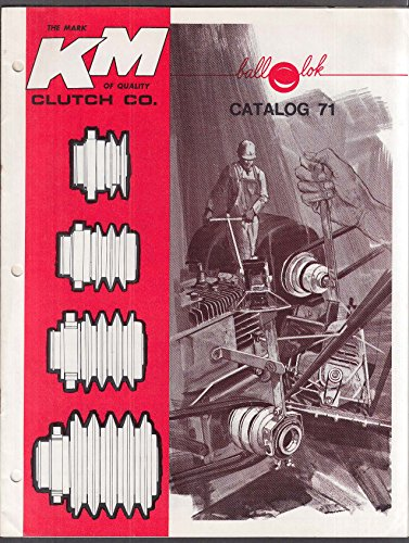 KM Ball-Lok Clutch Catalog 1973 Ontario (1973 Clutch)