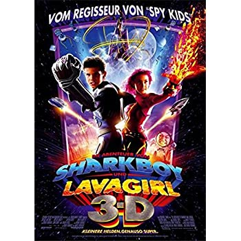 Amazon.com: The Adventures of Sharkboy and Lavagirl 3-D ...
