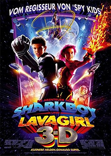 The Adventures of Sharkboy and Lavagirl 3-D Poster Movie German