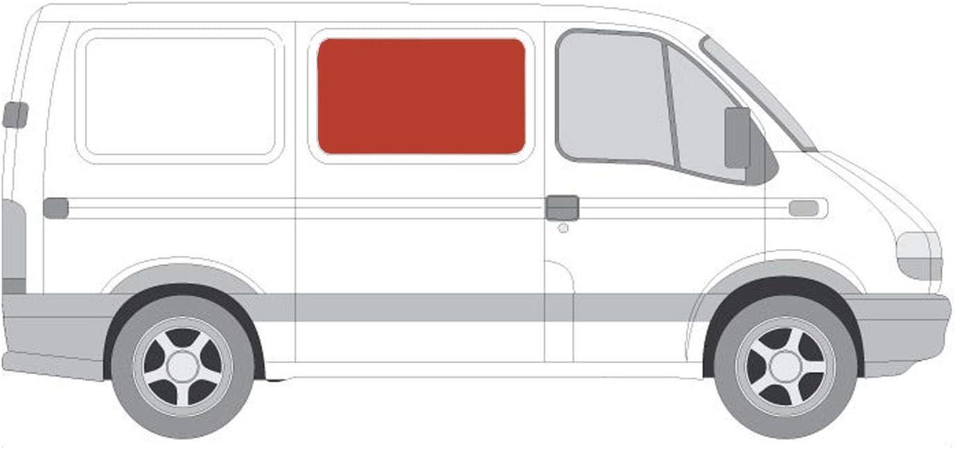 Mano derecha, tintado oscuro fijo panorámica ventana para puerta corredera derecha panel lateral opuesta para Renault Master (98 – 10): Amazon.es: Coche y moto