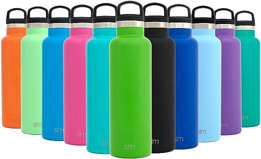 28 opinioni per Simple Modern Una bottiglia d'acqua in acciaio inox 20once, un viaggio termico