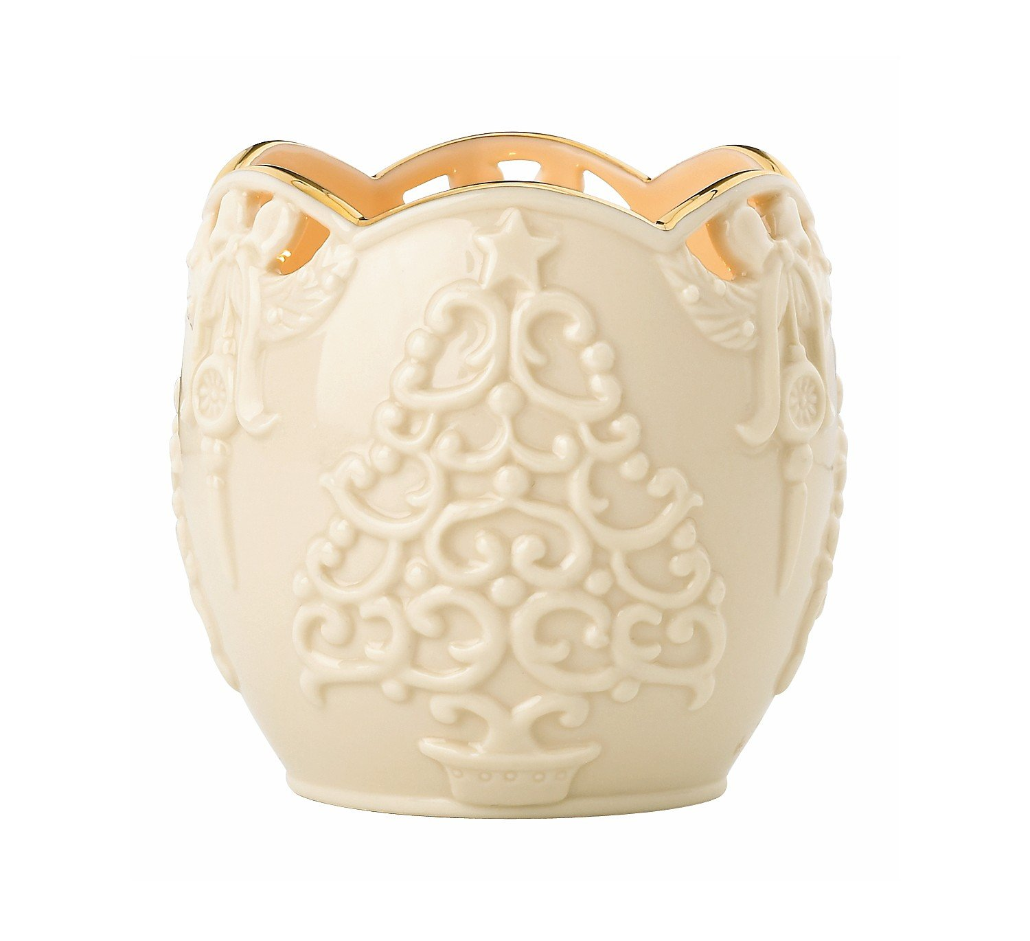 Lenox Merry Lights Tree Votive Candle Holder