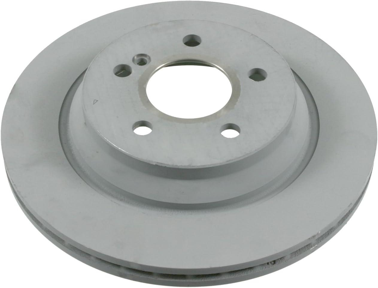 2 Brake Disc febi bilstein 26108 Brake Disc Set No internally ventilated of Holes 5 rear