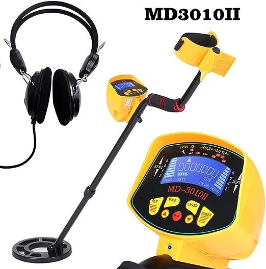 KKmoon MD3010II - Detector de metales ABS + aluminio + cobre alta ...