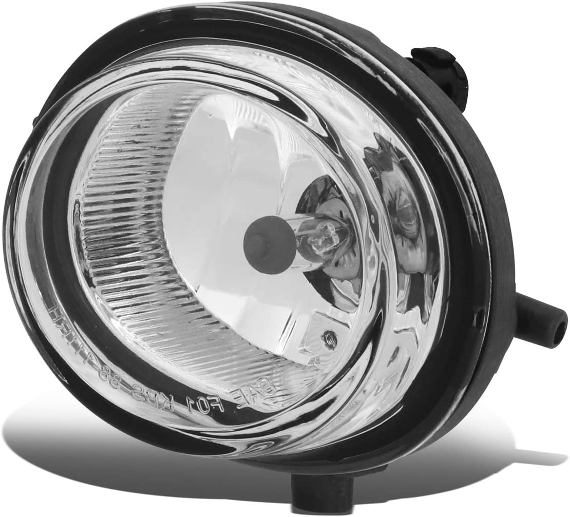 Driver side WITH install kit 2007 Mazda CX-7 Post mount spotlight LED 6 inch -Black