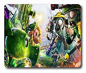 "Zombie Sunflowers Plants vs Zombies Games Personalized Style (01150380) Custom Oblong Gaming Mousepad Standard Size 220mm*180mm*3mm Rectangle Mouse Pad in 9""*7"""
