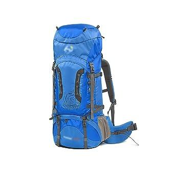 mochilas montaña Al aire libre 60L + 10L / 70L + 10L del bolso del alpinismo