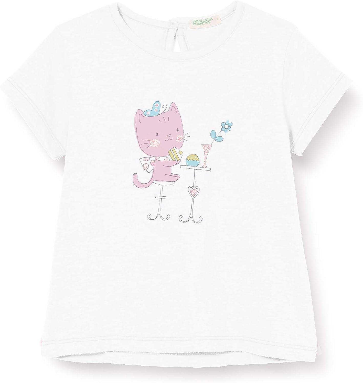 United Colors of Benetton Baby-M/ädchen T-Shirt Pullunder